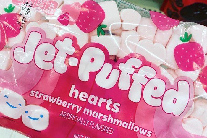 Jet Puffed Hearts Strawberry Marshmallows