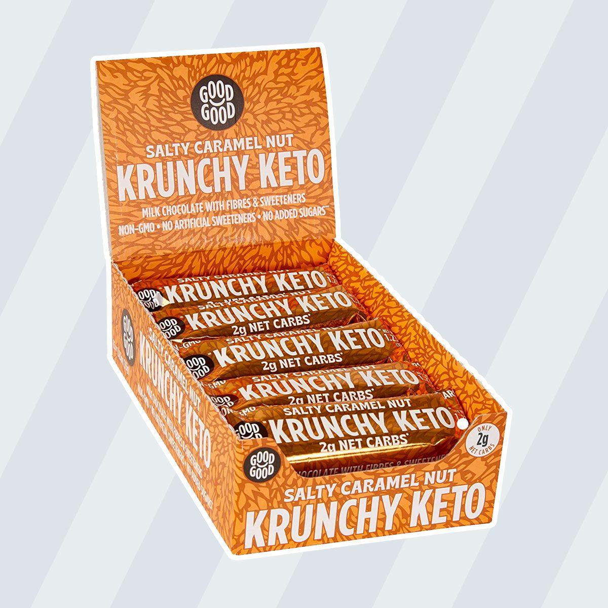 Krunchy Keto Bar keto snack bars
