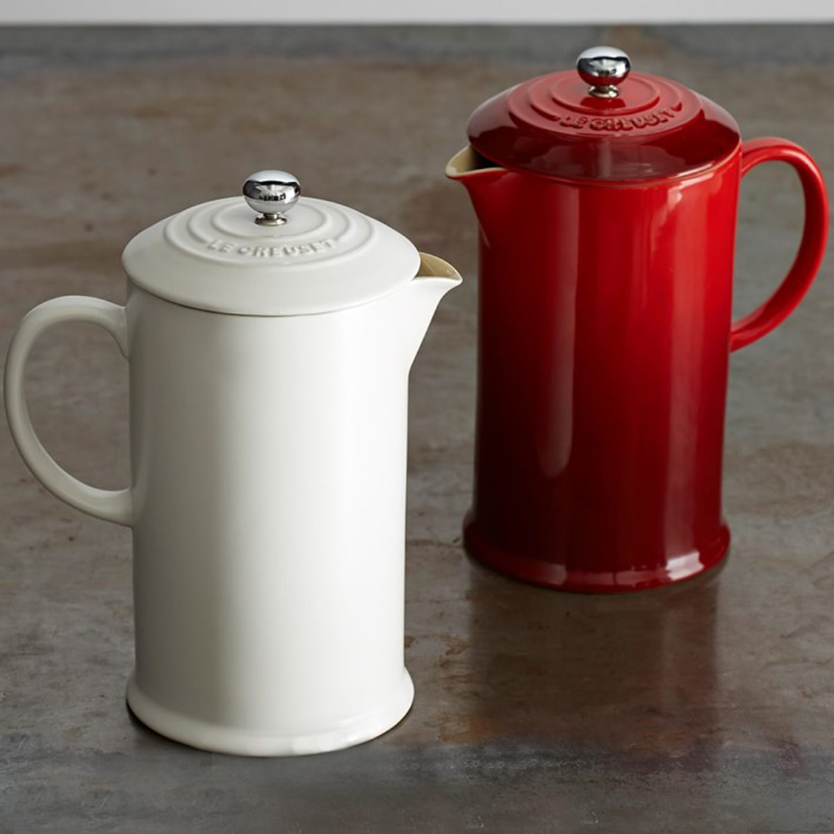 Valentine's Day gifts Le Creuset Cafe Stoneware French Press O