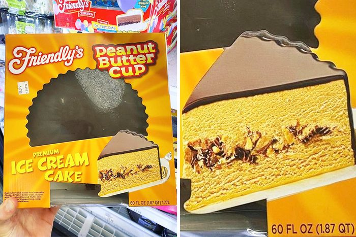 Friendly's Peanut Butter Cup Ice Cream Cake at Meijer