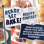 Ready, Set, Bake Recipe Contest