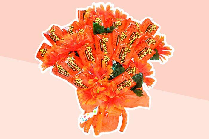 Reeses valentines Bouquet