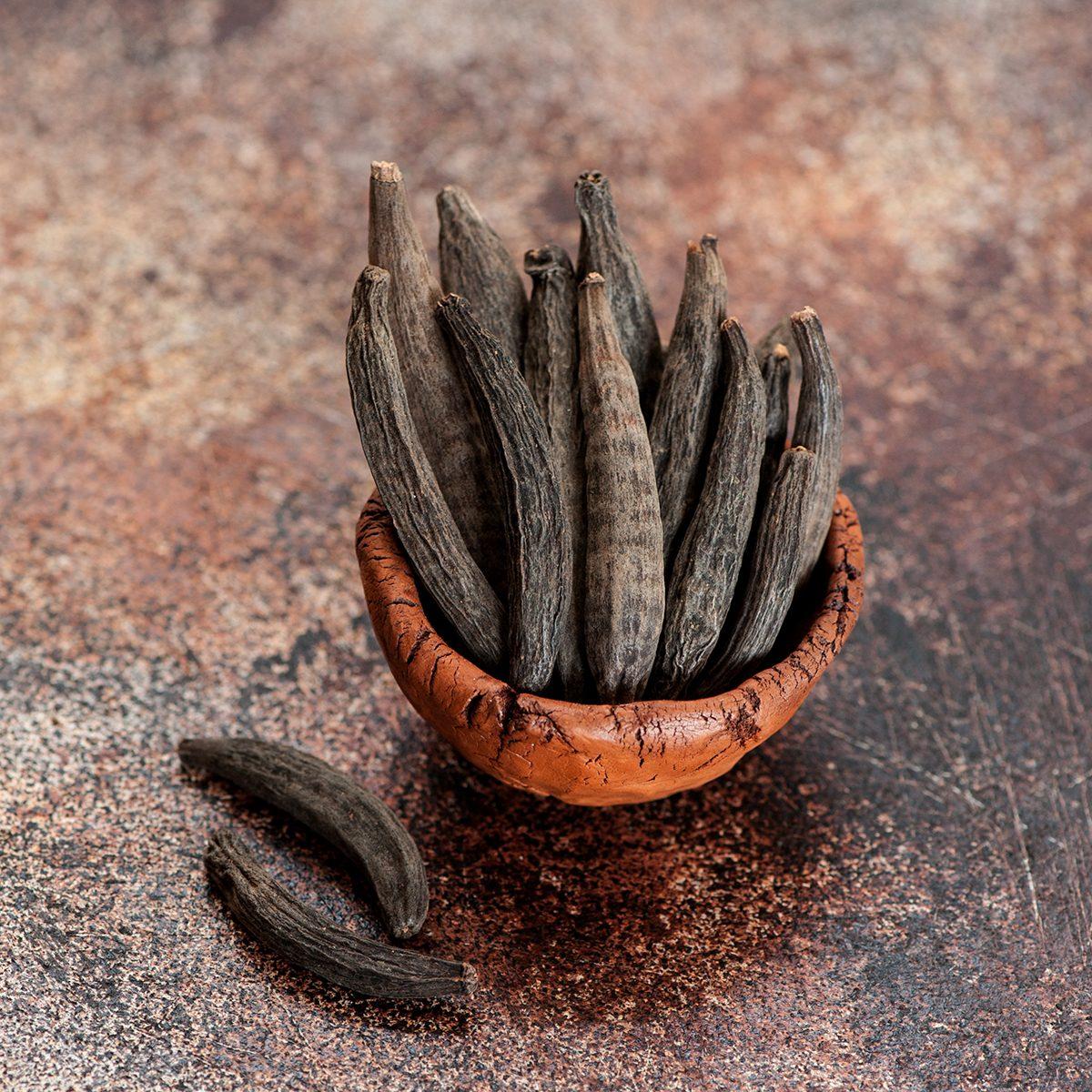 indian spices spices Kapok Buds or Marathi Moggu