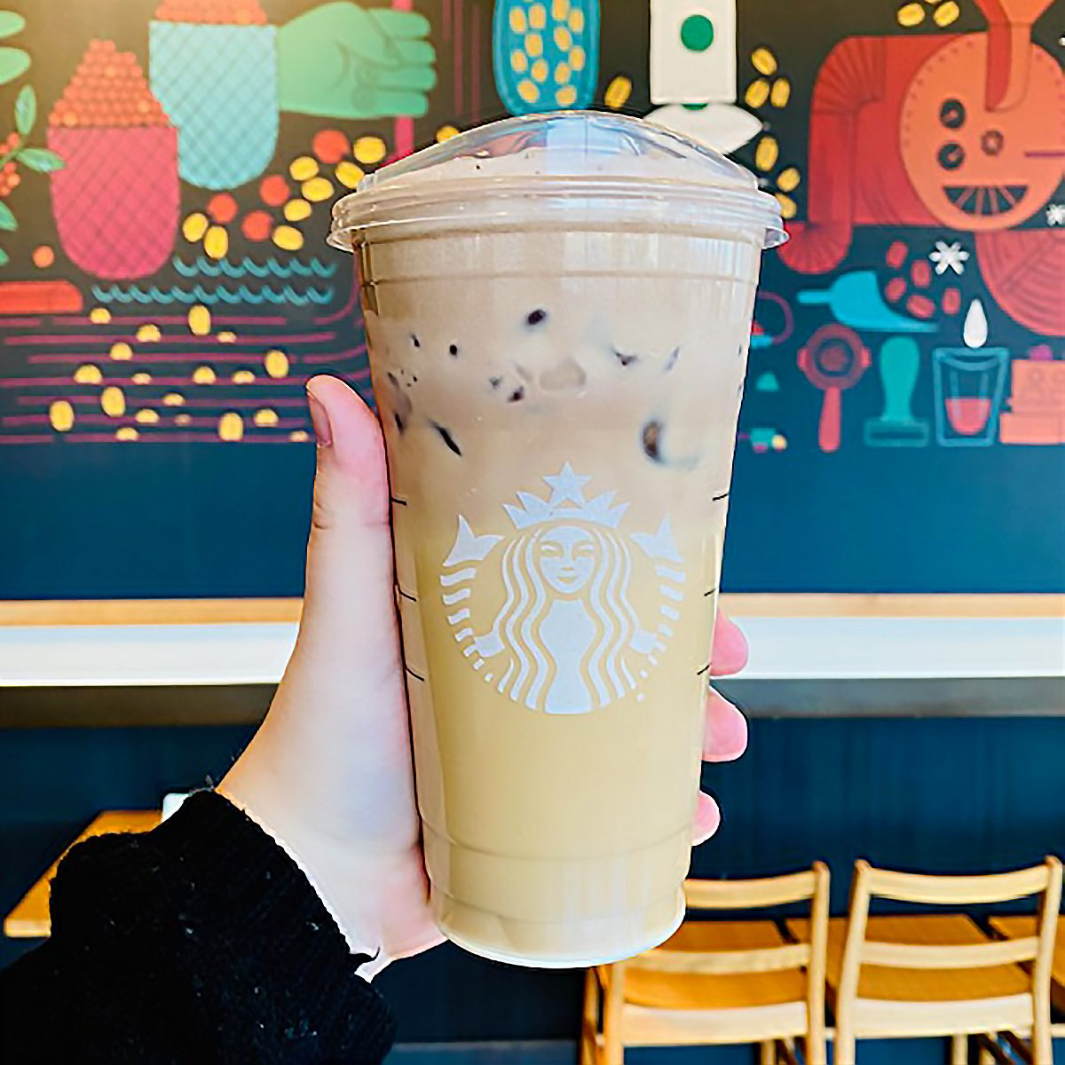 Secret Menu Cookies And Cream Cold Brew From Starbucks