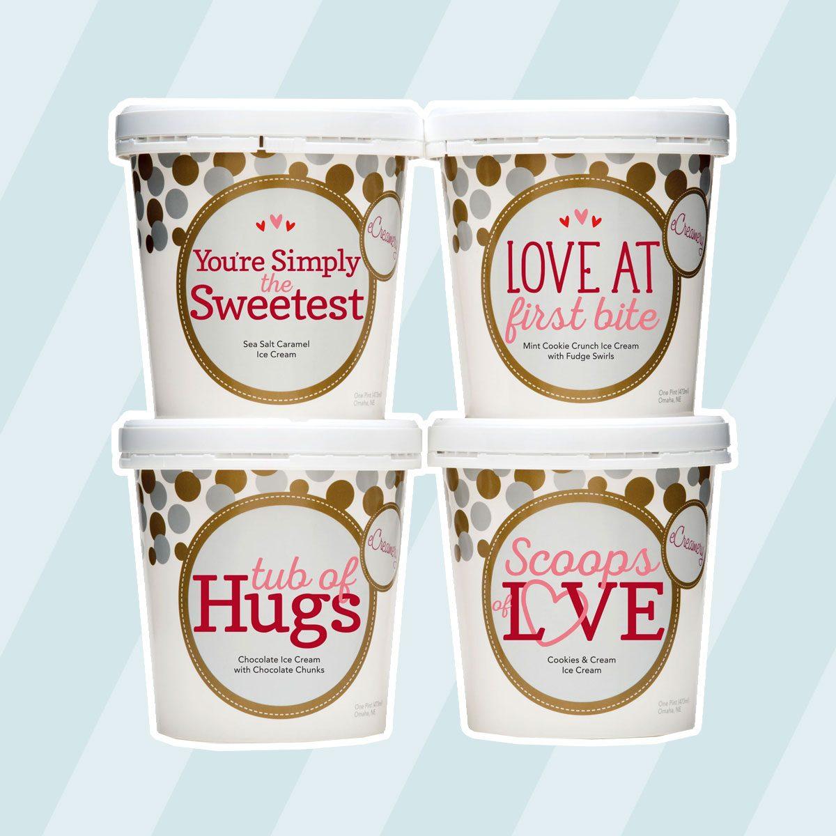 Tubs Of Hugs Ice Cream