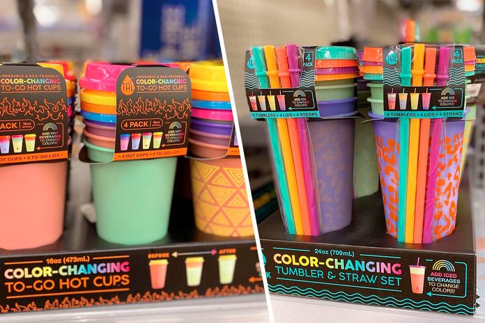 Walmart Color Changing Cups