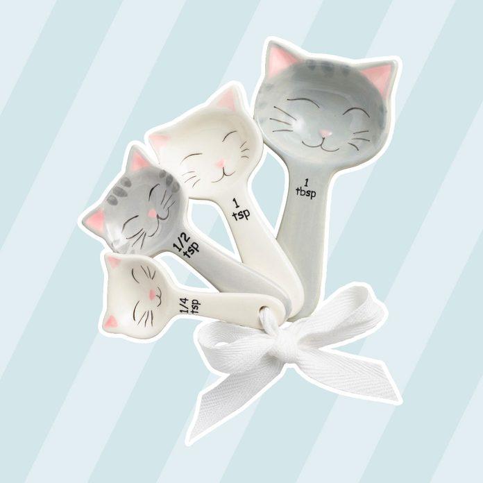 Cat Ceramic Measuring Spoons