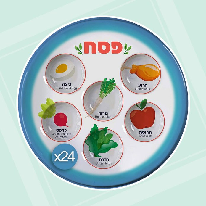 buy passover seder plate Disposable Passover Seder Plate