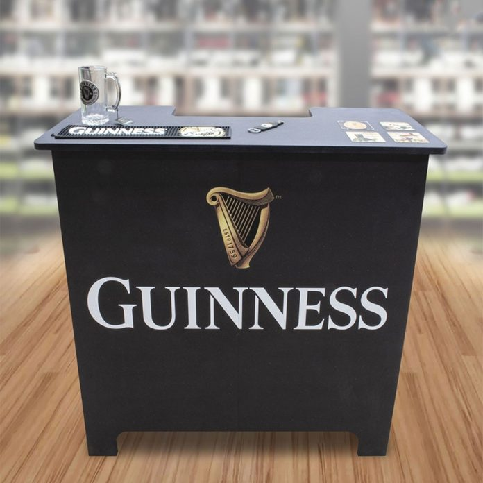 Home Bar Irish pub decor