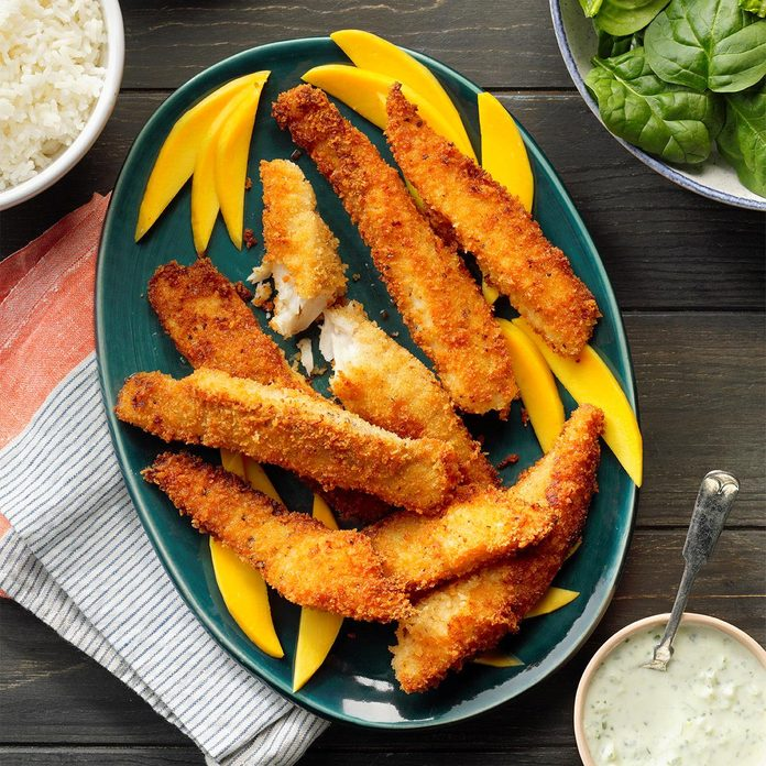 Indian-Spiced Tilapia Sticks