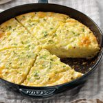 Swiss and Chive Quiche