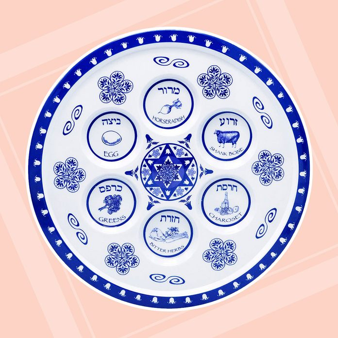buy passover seder plate The Dreidel Company Seder Plate