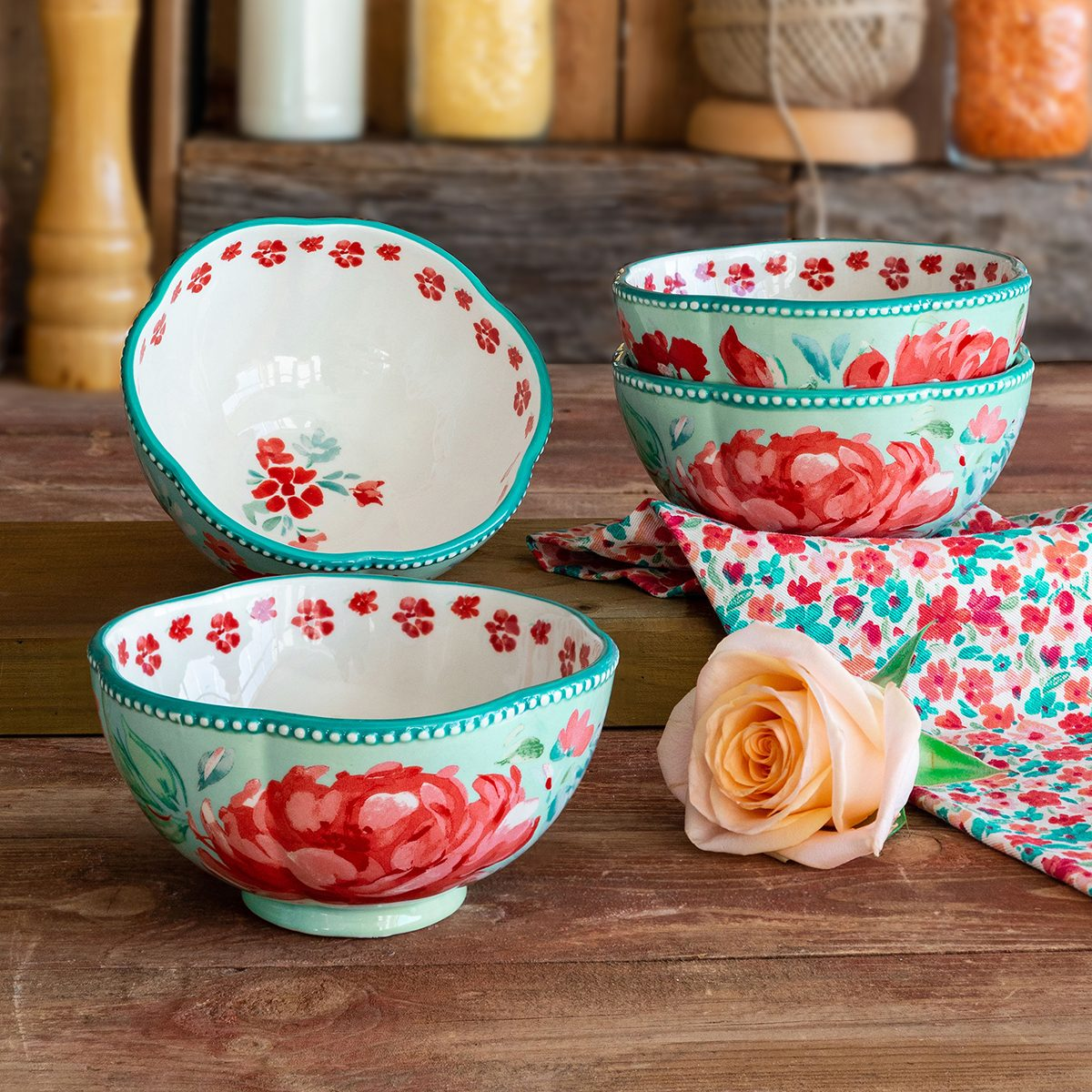 The Pioneer Woman Gorgeous Garden Bowls