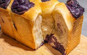 How to Make Ube Bread from Scratch