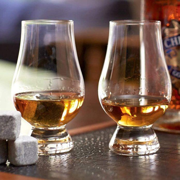 Whiskey Glass Set Irish pub decor