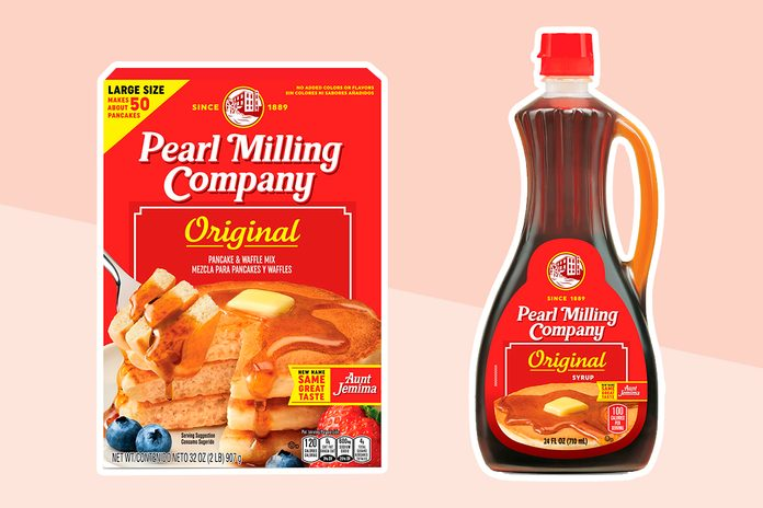 Aunt Jemima Rebrand to Pearl Milling Company
