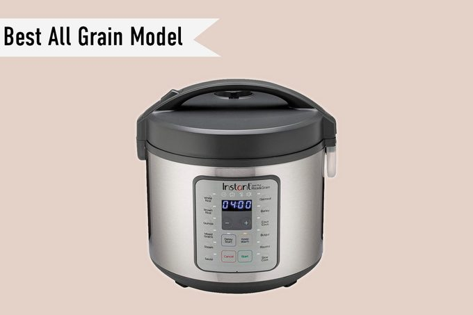Instant Zest Plus 20 Cup Rice Cooker, Steamer, Slow Cooker,13 One Touch Programs, No Pressure Cooking Functionality