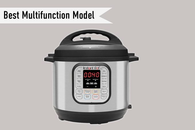 Instant Pot Duo 7-in-1 Electric Pressure Cooker, Sterilizer, Slow Cooker, Rice Cooker, Steamer, Saute, Yogurt Maker, and Warmer, 6 Quart, 14 One-Touch Programs