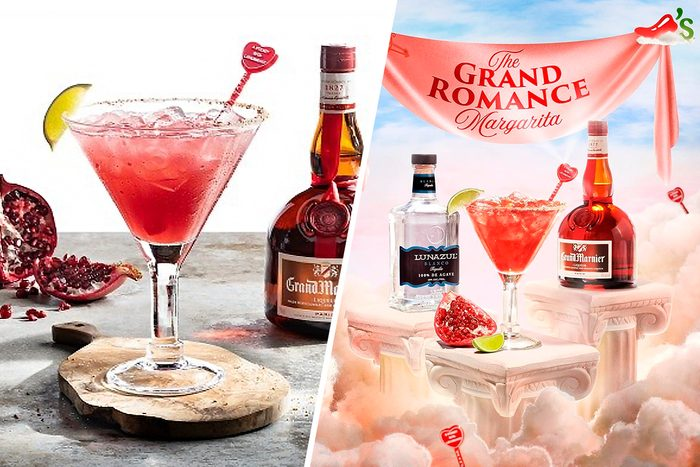 The Grand Romance $5 Margarita of the Month from Chili's