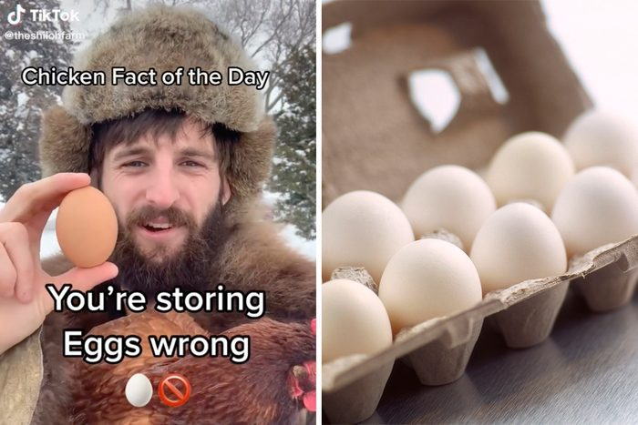 Egg Storage Tiktok hack