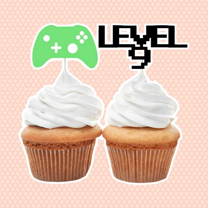 Custom Gamer Cupcake Toppers, Gamer Age Cupcake Toppers, Gamer Controller Cupcake Toppers, Level Up Cupcake Toppers, Choose Any Age
