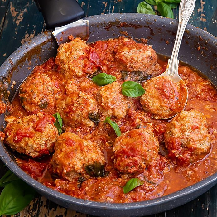 Traditional Italian Meatballs