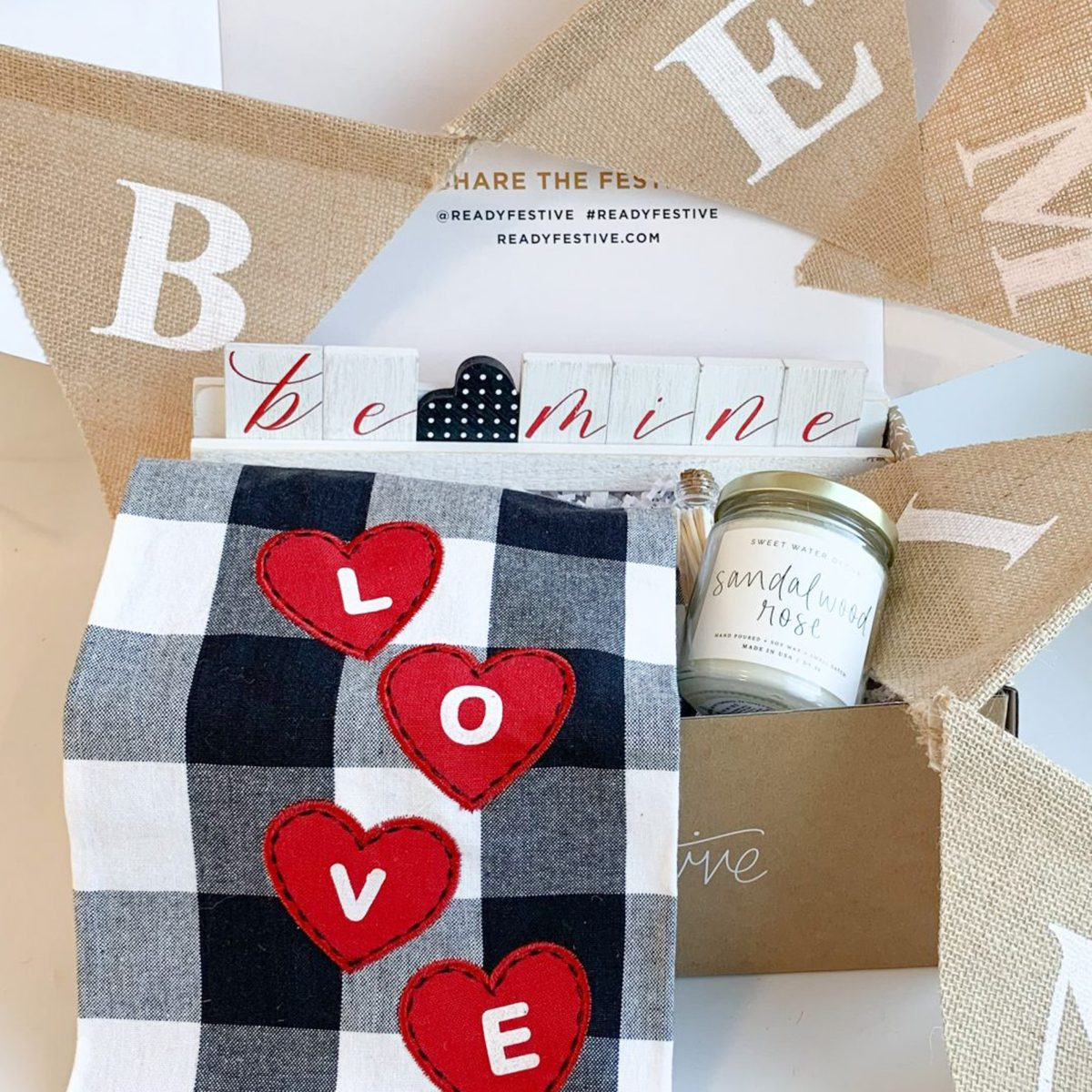 Mini Valentines Box home decor subscription box
