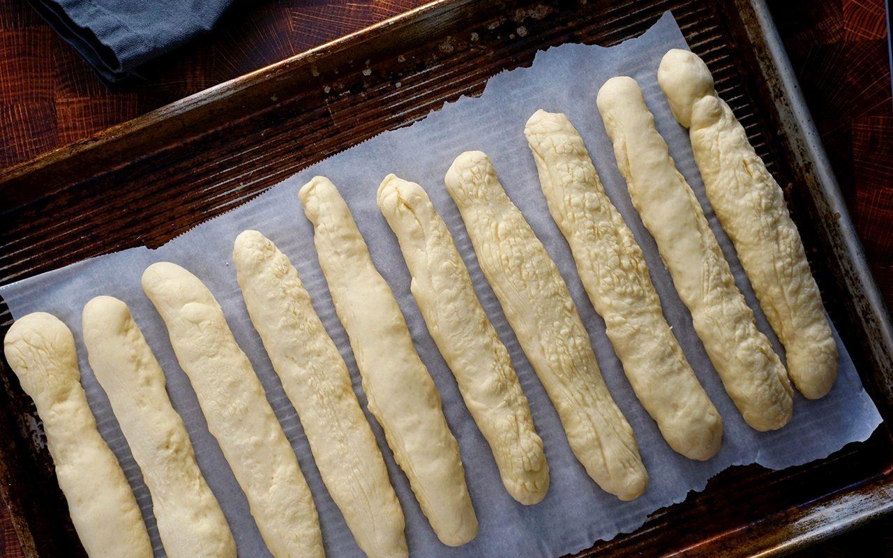 copycat olive garden breadsticks olive garden breadsticks after a 15 minute proof