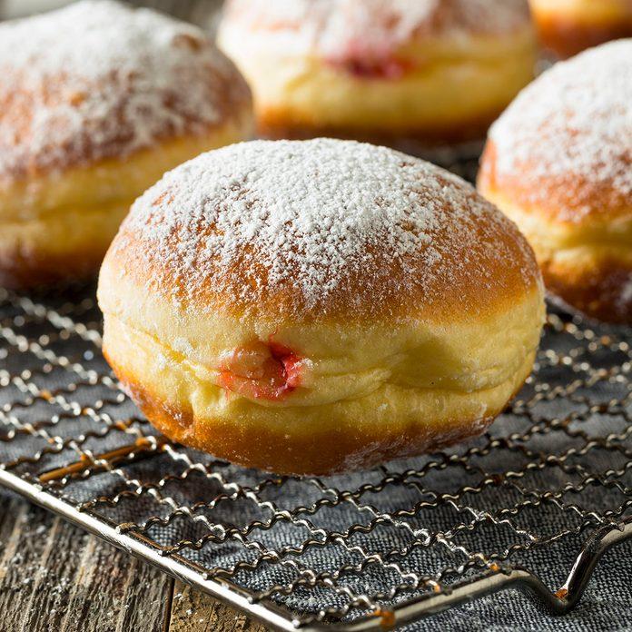 Gourmet Homemade Polish Paczki Donuts
