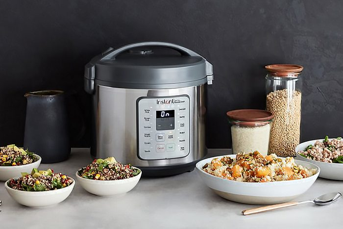 Instant Pot Stainless-Steel 20-Cup Zest Plus Rice Cooker