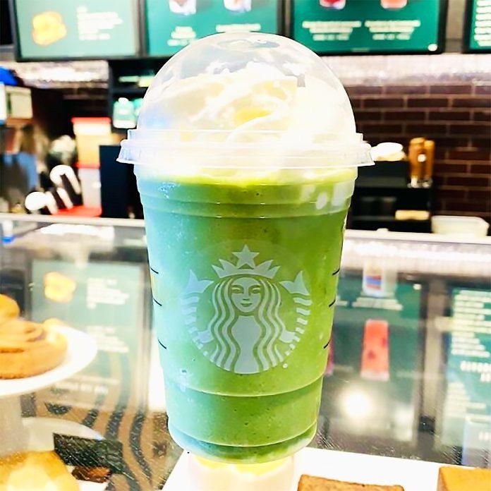 Good Luck Charm Frappuccino From Starbucks secret menu