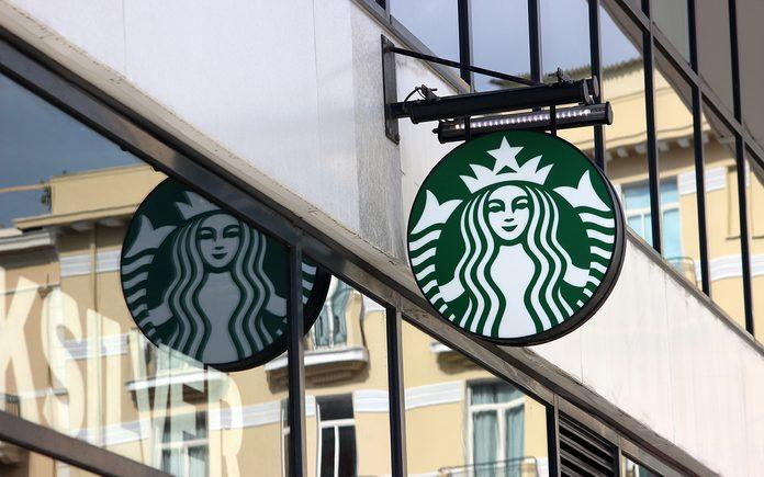 Starbucks Sign In Monaco, La Condamine