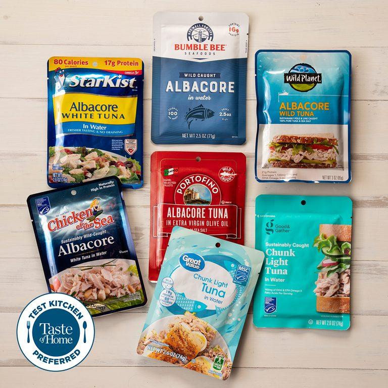 Test kitchen preferred the best Tuna square