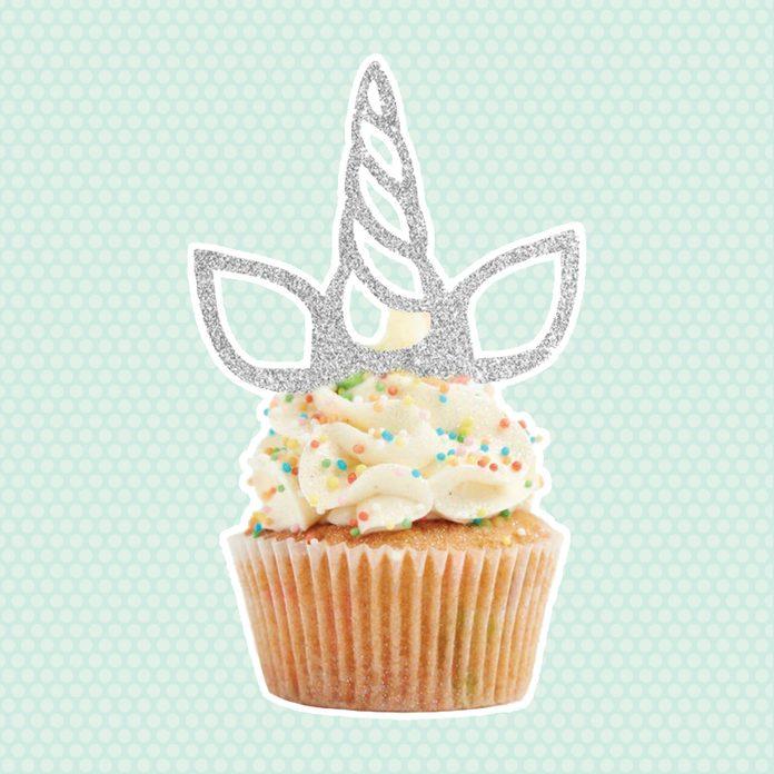 Unicorn SVG, Unicorn Cake Topper SVG, Unicorn Cupcake Topper SVG, Unicorn Party dxf Files for Cricut Cut Files, Silhouette Cut Files,