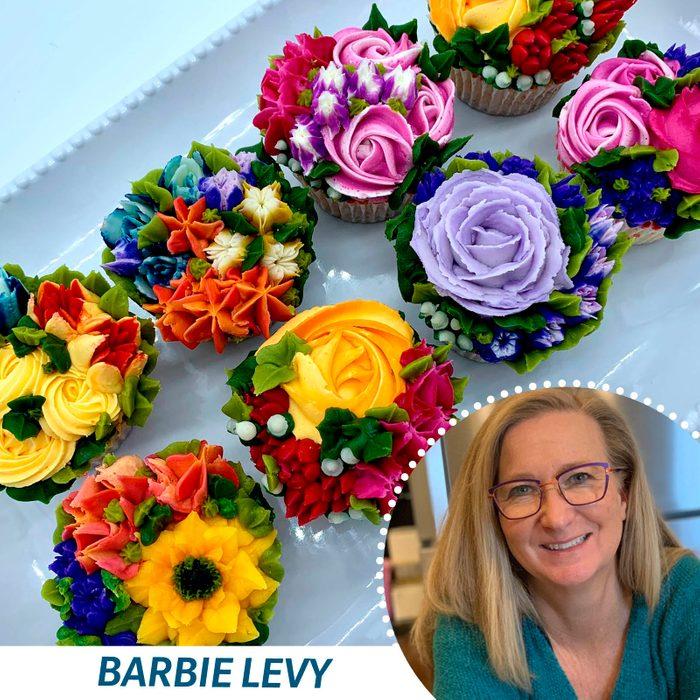 Vanilla Cupcake Contest Barbie Levy
