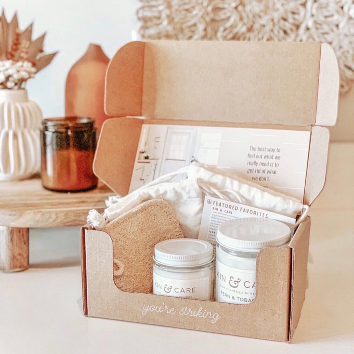 Vellabox home decor subscription box