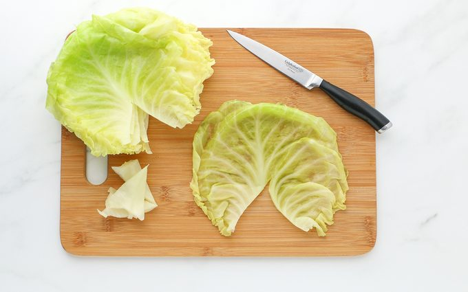 Cabbage Leaves how to make vegan cabbage rolls