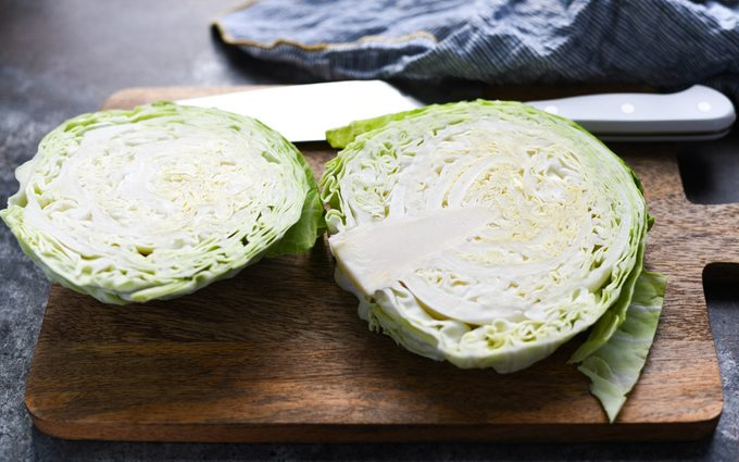 Slice cabbage how to make cabbage steaks