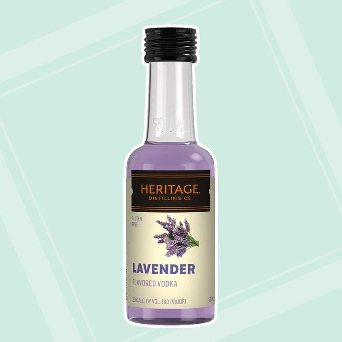Lavender Vodka adult easter basket