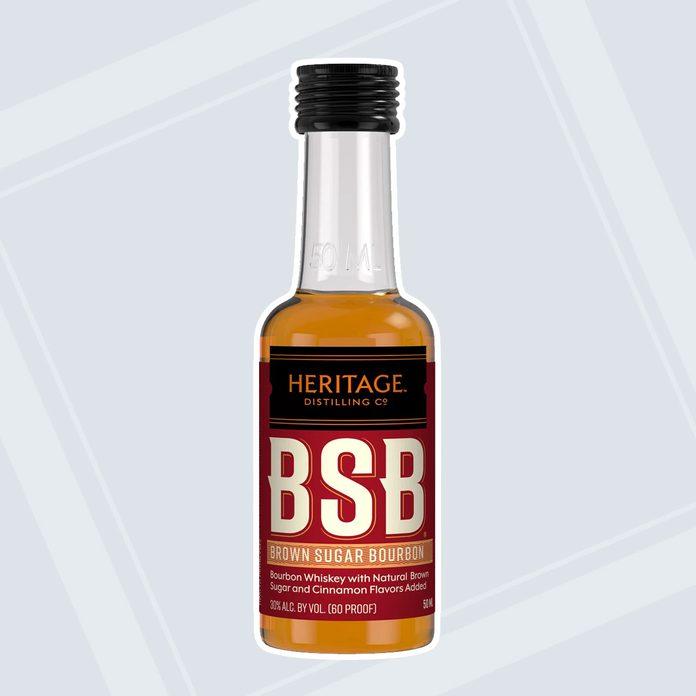 Mini Bourbon Bottles adult easter basket