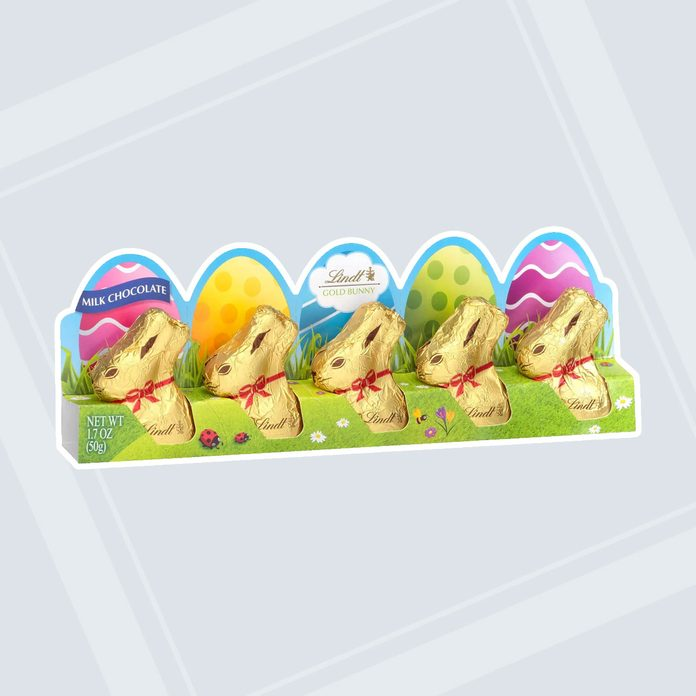 adult easter basket Mini Chocolate Bunnies