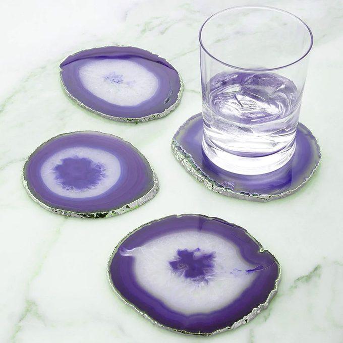 Natural Agate Stone Coasters