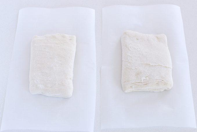 Shape Loaves How to make ciabatta bread
