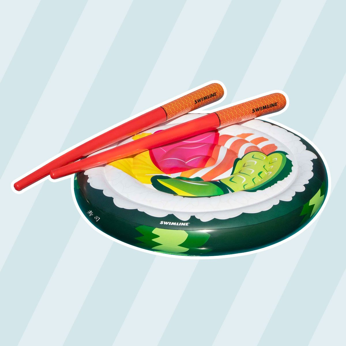 Sushi Roll Island Pool Float