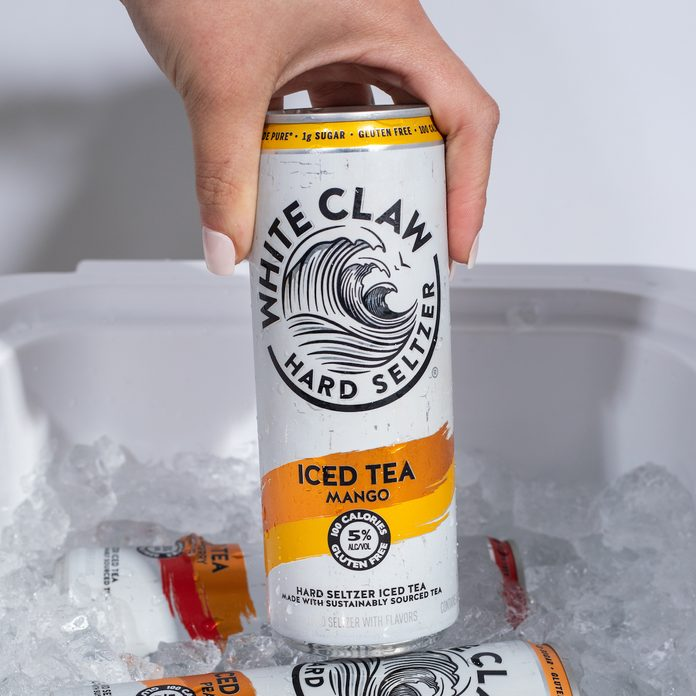 White Claw Iced Tea Cooler