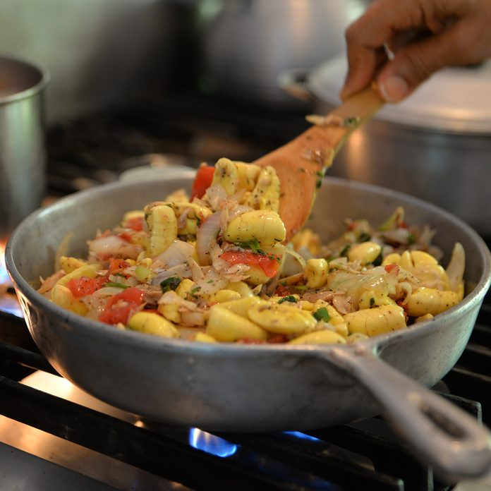 Ackee And Saltfish traditional jamaican foods