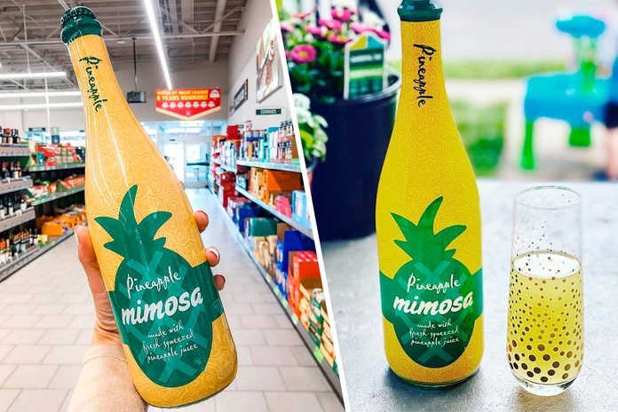 Aldi Pineapple Mimosa