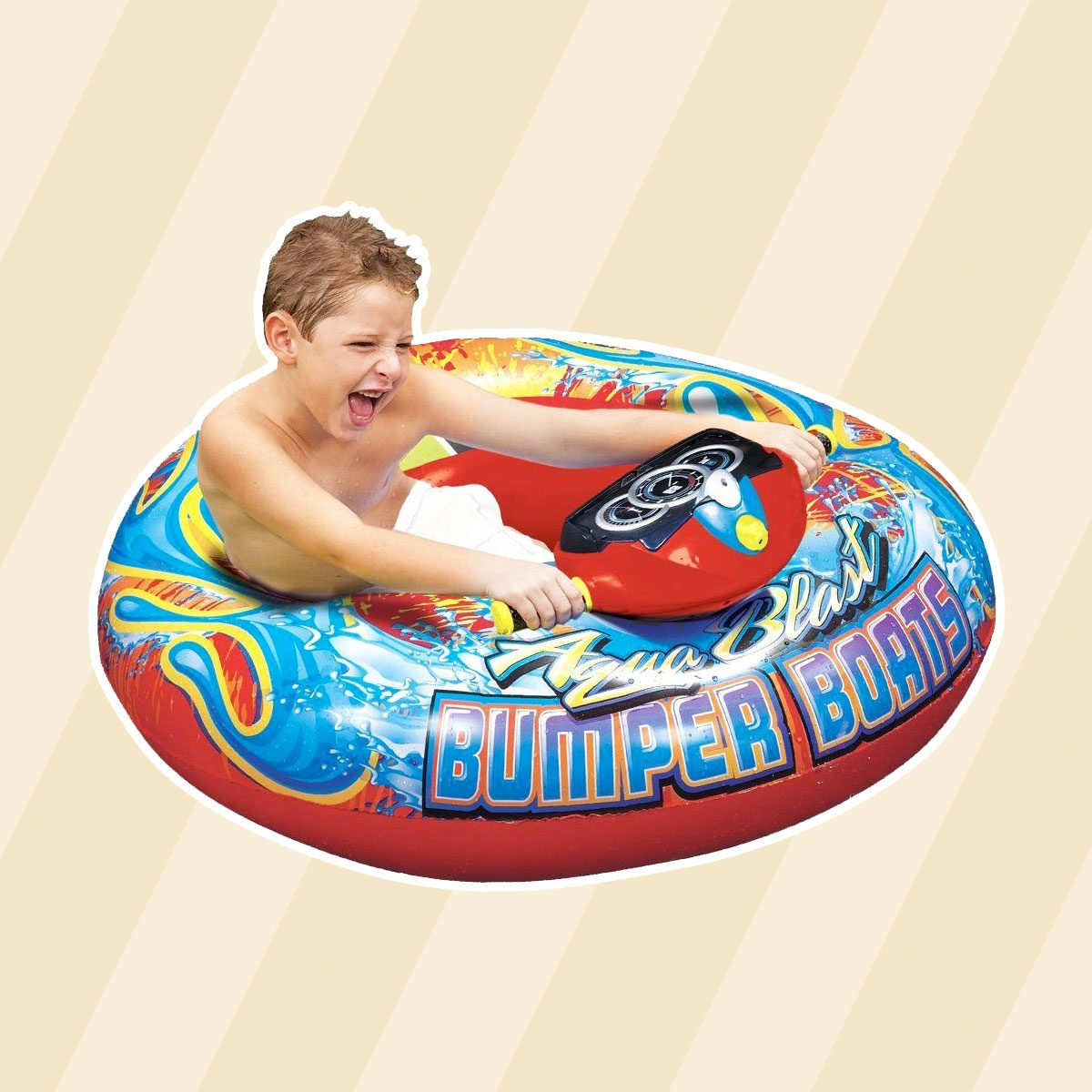 Aqua Blast Bumper Pool Float