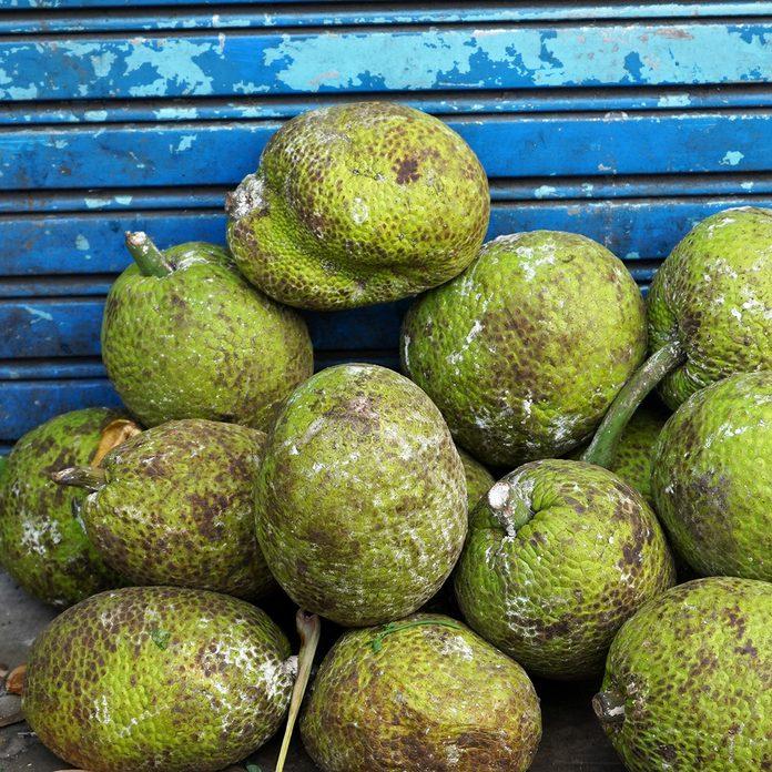 Breadfruit Or Sukun traditional jamaican foods
