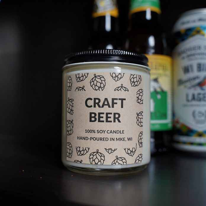 Craft Beer Candle